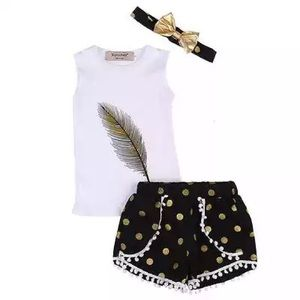 Other - feathered polkadot 3 piece
